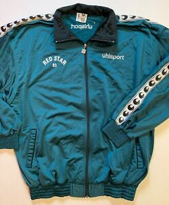 RARE VESTE SURVETEMENT UHLSPORT CLUB PRO - RED STAR 93 // SAISON 1995