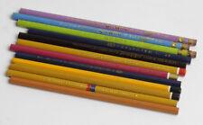 Alte Bleistift Konvolut (No 2), 12 Stk. Vintage pencil lot. Hardtmuth, Mephisto