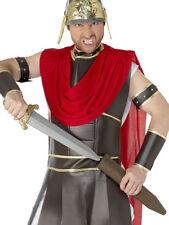 ROMAN SWORD MENS LADIES GLADIATOR FANCY DRESS ACCESSORY + SCABBARD 50CM