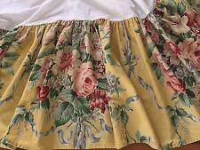 """Ralph Lauren """"Evelyn"""" Dust Ruffle Bedskirt~TWIN 15"""" Drop"""