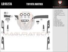 Fits Toyota Matrix 2009-2014 Large Wood Dash Trim Kit