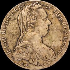 1780 Maria Theresa Thaler BURG CO TYR 1780 X ARCHID AVST DUX S.F Austria