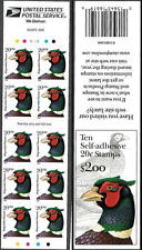 3050a Pheasant Plate # V2343 Die Cut (perf) 11.2 Convertible Booklet Mint NH