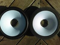 "JBL L100 RECONE 12"" Speaker Kit White Cone! re-cone 12/3"" ""AquaPlax""  PMR"