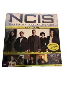 NCIS The Board Game - Complete - 2010 - By Pressman, New, Crime, Mystery, TV