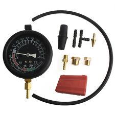 Fuel Pump Vacuum Tester Gauge Leak Carburetor Pressure Diagnostics with Case New