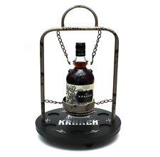 KRAKEN RUM - Bartender Holzdisplay Barständer Glorifier - Hausbar - OHNE FLASCHE