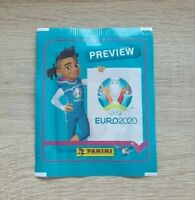 Panini 1 Tüte Preview UEFA Euro 2020 Bustina Pochette Packet Pack Sobre EM 20