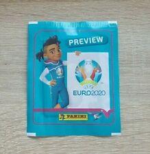 Panini 1 Tüte Preview UEFA Euro 2020 Bustina Pochette Packet Pack Sobre EM 20