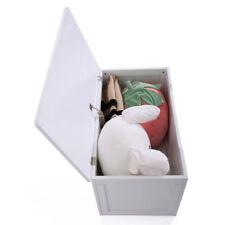 Toy Storage Bedroom Chest Carton Box Wooden Bench Kids Furniture Organizer