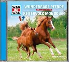 CD * WAS IST WAS - FOLGE 56 - WUNDERBARE PFERDE / REITERVOLK MONGOLEN # NEU OVP!