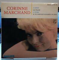 Rare EP Corinne Marchand 45 tours 1964 L'adieu Philips 432.983  EX / EX