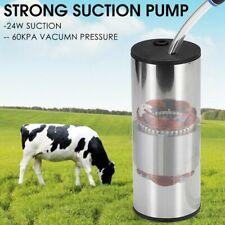 Cowgoat Milker 5l Electric Milking Machine Vacuum Impulse Pump Stainless Steel