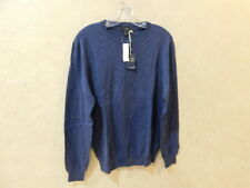 J.Crew Italian Cashmere Long Sleeve Tee Sweater M Blue __________________R11F1