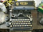 rare+royal+no.5+typewriter+for+parts+or+restore