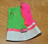 VINTAGE SISTER SMALL TALK DRESS MATTEL 1967 CLOTHES ACCESSORY