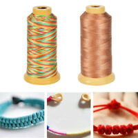 0.4mm500m Nylon Cord Thread Rope Beading Braided String Cord DIY JewelryMakingVU