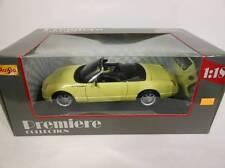 Maisto Thunderbird Show Car Yellow (Die-cast - 1:18 Scale)