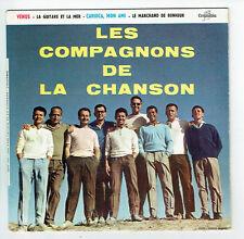 LES COMPAGNONS DE LA CHANSON Vinyle 45T EP VENUS -CARIOCA MON AMI -COLUMBIA 1221