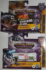 Transformers Cyberverse Bludgeon Wheeljack lot set new unopened whirlwind slash
