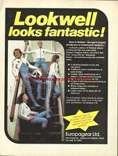 Europagear Clothing Motorcycle 1977 Magazine Advert #1181