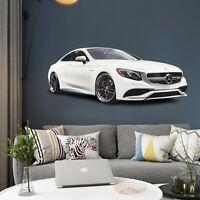3D Mercedes-Benz G163 Car Wallpaper Mural Poster Transport Wall Stickers Wendy