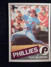 Tug McGraw 1985 Topps Tiffany Card