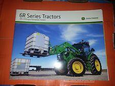 "John Deere ""6R Series Tractors"" Catalog Brochure Leaflet"