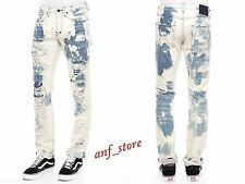 NWT PRPS Goods JAPAN Barracuda Straight Men Jeans 34 x 32 ENZYME Distress $425