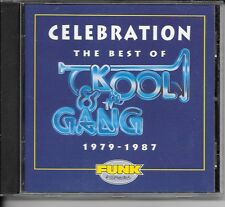 CD COMPIL 17 TITRES--KOOL & THE GANG--CELEBRATION THE BEST OF 1979-1987