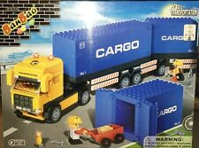 BanBao 8763 Container Tanker Truck Building Block Set 562pcs