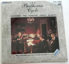 The Beethoven Cycle Featuring The Guarneri String Quartet  Laserdisc
