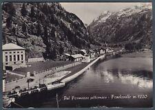 VERBANIA FORMAZZA 79 OSSOLA - FONDOVALLE Cartolina FOTOGRAFICA