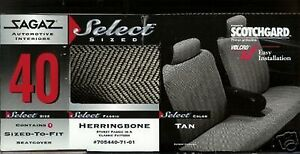 DODGE 600 ARIES DIPLOMAT DYNASTY 85,86,87,88,90,91,92,93 CAR SEAT COVERS boneTAN