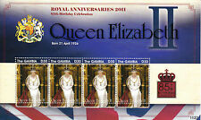 Gambia 2011 MNH Royal Anniversaries Queen Elizabeth 85th Birthday 1v M/S
