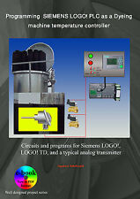 Programming SIEMENS LOGO PLC as a dyeing machine temperature controller, LOGO TD