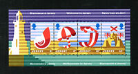 (Ref-3845) Jersey 1975 Holiday Posters SG.124/127 Miniature Sheet (MS128) MNH