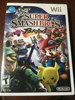 Super Smash Bros. Brawl - Nintendo  Wii Game Great Conditions No Scratch
