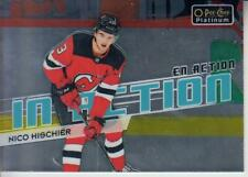 2018-19 O-Pee-Chee Platinum In Action #IA12 Nico Hischier Devils