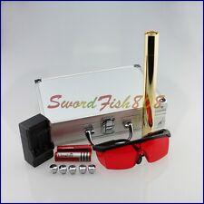 2W-B950 450nm Adjustable Focus Blue Laser Pointer burn matches&cigarette Goggles