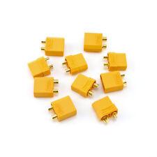 5X HobbyStar XT90 Connectors, Male and Female M FM 5 Pair 90A 90 Amp LiPo Plugs