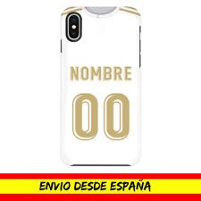 Funda Movil Apple Iphone Camiseta Futbol Compatible conMadrid Nombre Numero Dibu