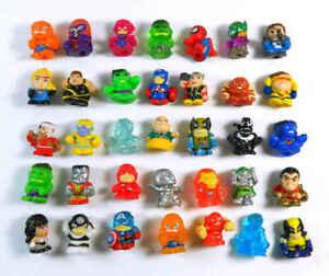 12 super hero squinkies soft squishy figures random cheap