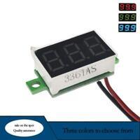 DC 0-30V 3 Wires 0.36 inch LED Panel Voltage Meter Display-Voltmete R6Z3
