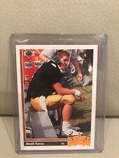 1991 UPPER DECK BRETT FAVRE ROOKIE FOOTBALL CARD #13.