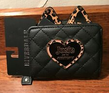 Riverdale Josie and the Pussycats Black/ Leopard Wallet Nwt