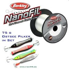 150 m Berkley nanofil fishing line 0,20 mm + ostseepilker