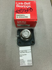 "NEW IN BOX LINK-BELT 4-BOLT FLANGE BEARING 3/4"" BORE F3S212ECS"