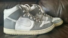 00d029c057fc01 2002 NIKE DUNK HIGH WHITE METALLIC SILVER 305287-001 SIZE 12 WITH INSURANCE