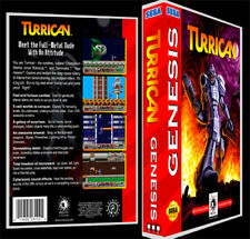 Turrican - Sega Genesis Reproduction Art Case/Box No Game